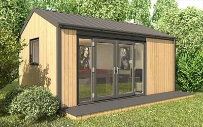 Modern Garden Lodges