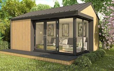 Modern Edge Garden Lodges