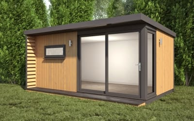 Extend Plus Edge Modern Garden Rooms